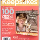 CREATING KEEPSAKES SCRAPBOOKING CRAFT MAGAZINE SEPTEMBER 2011 VG TO NM #2