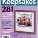CREATING KEEPSAKES SCRAPBOOKING CRAFT MAGAZINE JANUARY FEBRUARY 2012 NEAR MINT