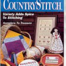 COUNTRY STITCH BACK ISSUE CRAFT MAGAZINE JANUARY FEBRUARY 1992 NEAR MINT
