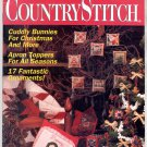 COUNTRY STITCH BACK ISSUE CRAFT MAGAZINE NOVEMBER DECEMBER 1992 NEAR MINT