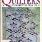QUILTER'S NEWSLETTER MAGAZINE BACK ISSUE CRAFT MAGAZINE JULY AUGUST 1996 NEAR MINT