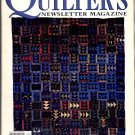 QUILTER'S NEWSLETTER MAGAZINE BACK ISSUE CRAFT MAGAZINE OCTOBER 1996 NEAR MINT