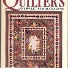 QUILTER'S NEWSLETTER MAGAZINE BACK ISSUE CRAFT MAGAZINE NOVEMBER 1996 NEAR MINT