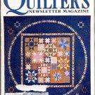 QUILTER'S NEWSLETTER MAGAZINE BACK ISSUE CRAFT MAGAZINE JANUARY FEBRUARY 1997 NEAR MINT