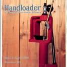 HANDLOADER THE JOURNAL OF AMMUNITION RELOADING BACK ISSUE MAGAZINE # 90 MARCH APRIL 1981 NEAR MINT