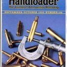 HANDLOADER THE JOURNAL OF AMMUNITION RELOADING BACK ISSUE MAGAZINE # 105 SEPTEMBER OCTOBER 1983 NM