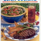 TASTE OF HOME'S QUICK COOKING MAGAZINE ~ GRILLED STEAKS & 10 MIN DISHES ~ JULY AUGUST 2002 NM