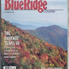 BLUE RIDGE COUNTRY MAGAZINE ~ BACKROADS OF VIRGINIA ~ OCTOBER 1995 NM