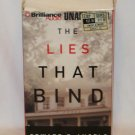 THE LIES THAT BIND BY EDWARD DeANGELO UNABRIDGED AUDIOBOOK ~ 7 CASSETTES 2000 NEAR MINT
