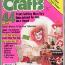 CRAFTS MAGAZINE BACK ISSUE ~ FEBRUARY 1987 W/ FULL SIZE PULL OUT PATTERNS NEAR MINT