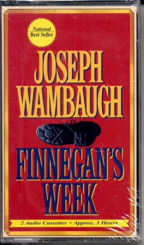 FINNEGAN'S WEEK BY JOSEPH WAMBAUGH ~ AUDIOBOOK 2 CASSETTES ABRIDGED 1993 NEW OLD STOCK SEALED