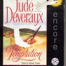 TEMPTATION BY JUDE DEVERAUX ~ AUDIOBOOK 4 CDs ABRIDGED 2000 NEAR MINT