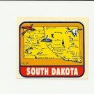 VINTAGE STYLE TRAVEL VINYL DECAL STICKER AUTO TRUCK ~ SOUTH DAKOTA #RD229 NOS MINT