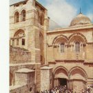 VINTAGE THE CHURCH OF HOLY SEPULCHRE JERUSALEM COLOR POSTCARD UNUSED 1992 NMINT # 11