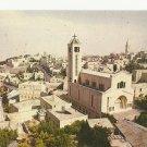 VINTAGE BETHLEHEM PARTIAL VIEW ISRAEL COLOR POSTCARD UNUSED 1992 NMINT # 05