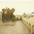 VINTAGE VIA DOLOROSA JERUSALEM ISRAEL COLOR POSTCARD UNUSED 1992 NEAR MINT # 07