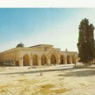 VINTAGE EL. AQSA MOSQUE JERUSALEM COLOR POSTCARD UNUSED 1992 NEAR MINT # 17