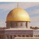VINTAGE DOME OF THE ROCK JERUSALEM COLOR POSTCARD UNUSED 1992 NEAR MINT # 21