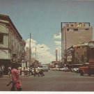 AV. JUAREZ, ESQUINA CON 16 DE SEPTIEMBRE CD. JUAREZ MEXICO VINTAGE COLOR POSTCARD UNUSED MINT
