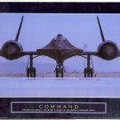 "2003 PRINT #16B: MILITARY STEALTH AIRPLANE: COMMAND ""BLACKBIRD"" NEAR  MINT"