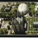 TEMPLE SQUARE CHURCH LATTER DAY SAINTS SALT LAKE CITY - VINTAGE POSTCARD 1981 UNUSED MINT # 625