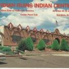 INDIAN RUINS INDIAN CENTER SANDERS ARIZONA NAVAJO - VINTAGE COLOR POSTCARD UNUSED NEAR MINT #633