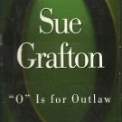 """O"" IS FOR OUTLAW BY SUE GRAFTON ~ KINSEY MILLHONE MYSTERY ABRIDGED 4 CASSETTES 1999 NM"