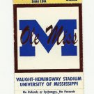 1994 OLE MISS VS LSU FOOTBALL TICKET STUB 10/29/1994 GAME 4 UNUSED # D21