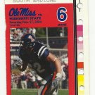 2004 OLE MISS REBELS VS MISSISSIPPI STATE FOOTBALL TICKET STUB ~ NOV 27 2004 #D40