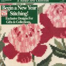 CLASSIC CROSS STITCH NEEDLE ARTS COLLECTION BACK ISSUE CRAFTS MAGAZINE DECEMBER JANUARY 1991 MINT