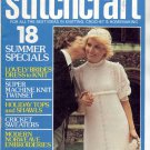 STITCHCRAFT MAGAZINE JUNE 1975 BACK ISSUE KNIT CROCHET EMBROIDERY RUGS NEAR MINT