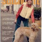 STITCHCRAFT MAGAZINE APRIL 1972 BACK ISSUE KNIT CROCHET EMBROIDERY RUGS VERY GOOD