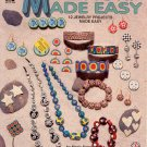 HOT OFF THE PRESS ~ FIMO MILLEFIORI MADE EASY JEWELRY CRAFT BOOKLET 1993 DISC NOS NM