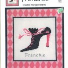 SOLE MATES ~ FRENCHIE ~ GREEN APPLE CO CROSS STITCH CRAFT LEAFLET 2004 NOS DISC MINT