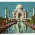 TAJ MAHAL - AGRA (INDIA) COLOR PICTURE POSTCARD #415 UNUSED