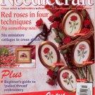 NEEDLECRAFT NO. 66 NOVEMBER 1996 W/CHRISTMAS CROSS STITCH INSERT U.K. BACK ISSUE CRAFT MAGAZINE MINT