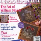 NEEDLECRAFT NO. 65 OCTOBER 1996 W/CHRISTMAS CROSS STITCH INSERT U.K. BACK ISSUE CRAFTS MAGAZINE MINT