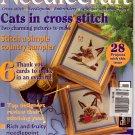 NEEDLECRAFT NO. 56 JANUARY 1996 W/FREE RIBBON EMBROIDERY INSERT U.K. CRAFTS MAGAZINE - CATS -MINT