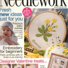 NEEDLEWORK BACK ISSUE CRAFTS MAGAZINE - CROSS STITCH EMBROIDERY NEEDLEPOINT PATCHWORK FEB 1998 MINT