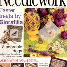NEEDLEWORK BACK ISSUE CRAFT MAGAZINE-CROSS STITCH EMBROIDERY NEEDLEPOINT PATCHWORK APRIL 1998 MINT