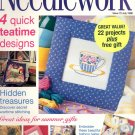 NEEDLEWORK BACK ISSUE CRAFTS MAGAZINE -CROSS STITCH EMBROIDERY NEEDLEPOINT PATCHWORK JULY 1998 MINT