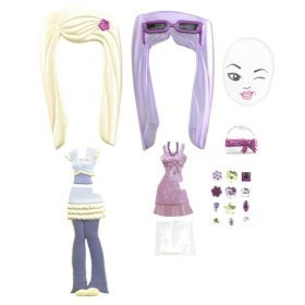Barbie Girls Fashion Pack - Purple/Pink