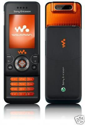 NEW Black AT&T Sony Ericsson W580i Walkman Cell Phone