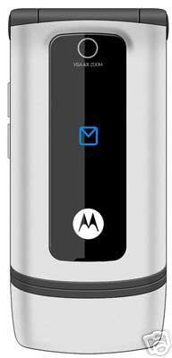 New Unlocked Tri-Band GSM Motorola W375 (Silver) Camera Phone (KRZR design) T-mobile / AT&T