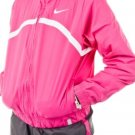 Nike Youth Dri Fit Pink Gray Tennis Border Woven Warm Up Jacket Pants XS 449182