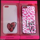 Victoria's Secret Iphone 5 5S Case Love VS Kisses Heart Case Cover Embellished N