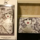 NWT IZAK Bird Girl Iphone 5 5s Purse Wristlet Bag Plus Hard Case Bundle Set