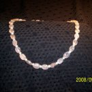 Rose Quartz and Pearl Necklace