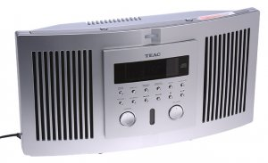 TEAC CD-X6 WALL MOUNT STEREO SYSTEM