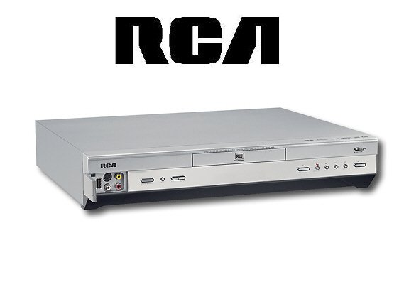 RCA DRC-8005N Progressive-Scan DVD+R +RW Recorder with USB Input for Card Reader - Silver